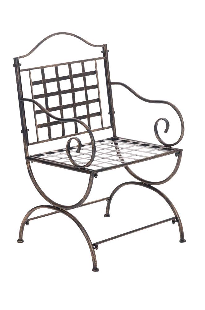 Stuhl Lotta Gartenstuhl Metallstuhl Stuhl Terrassenstuhl Eisen Antik ...