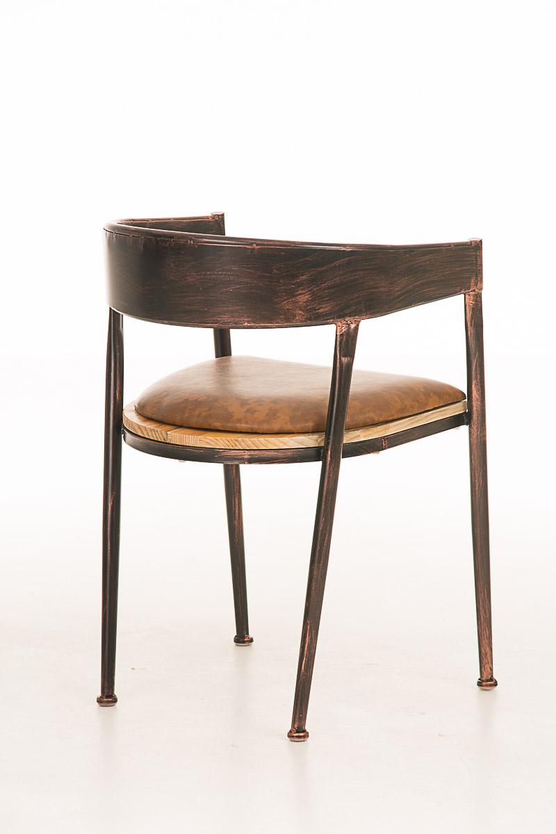 bistrostuhl belvedere industrie esszimmerstuhl stuhl metall holz gastronomie neu ebay. Black Bedroom Furniture Sets. Home Design Ideas