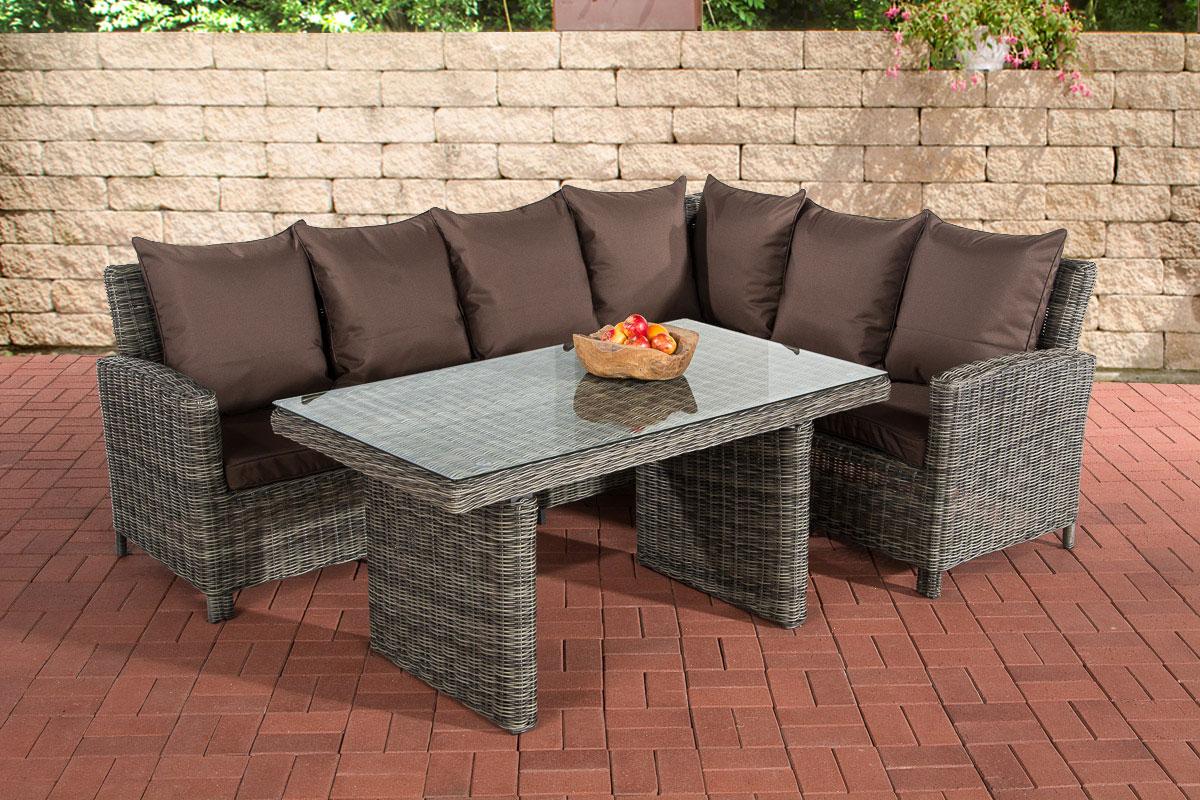Sofa Garnitur Cp056 Lounge Set Gartengarnitur Poly Rattan Kissen