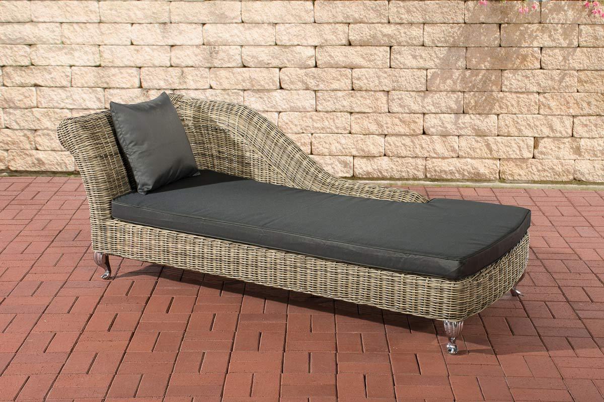 polyrattan gartenliege savannah natura relaxliege liege ebay. Black Bedroom Furniture Sets. Home Design Ideas