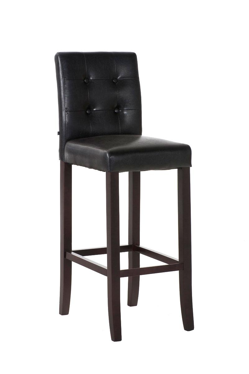 holz barhocker burda kunstleder mit lehne barstuhl theke tresenhocker barm bel ebay. Black Bedroom Furniture Sets. Home Design Ideas