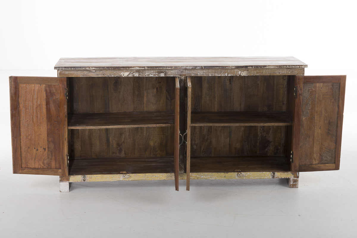 sideboard salita bunt kommode teak holz schrank retro. Black Bedroom Furniture Sets. Home Design Ideas