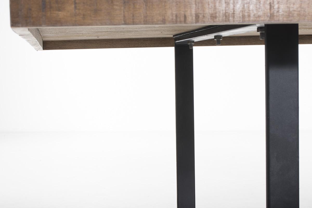 Esstisch Vintage Bunt ~ Teakholz Esstisch GANDARI bunt Küchentisch Esszimmertisch Metall Holztisch Re