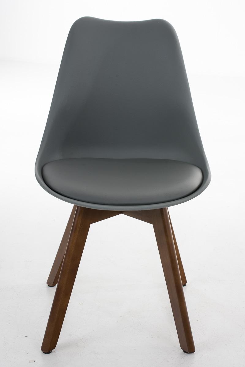 Chaise cuisine borneo noix similicuir fauteuil scandinave for Chaise cuisine scandinave