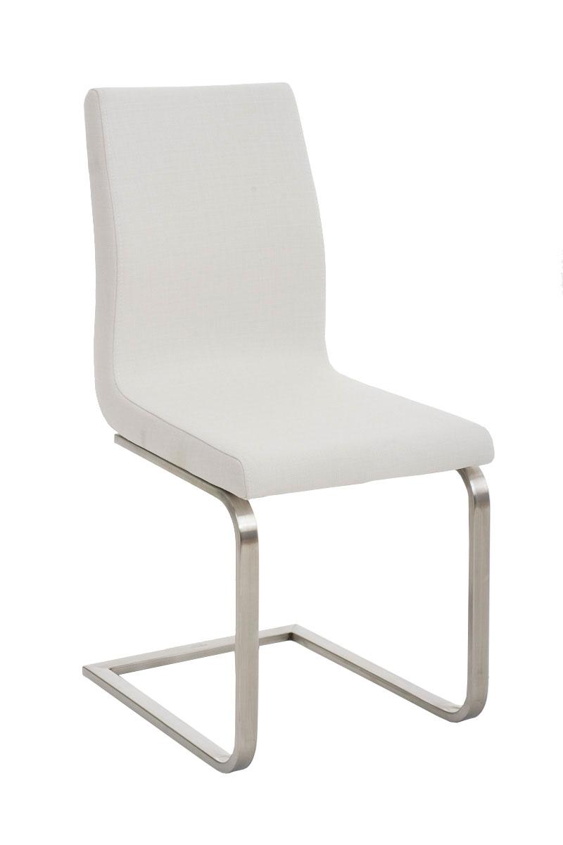 edelstahl freischwinger belfort stoff mit lehne k chenstuhl esszimmerstuhl stuhl ebay. Black Bedroom Furniture Sets. Home Design Ideas