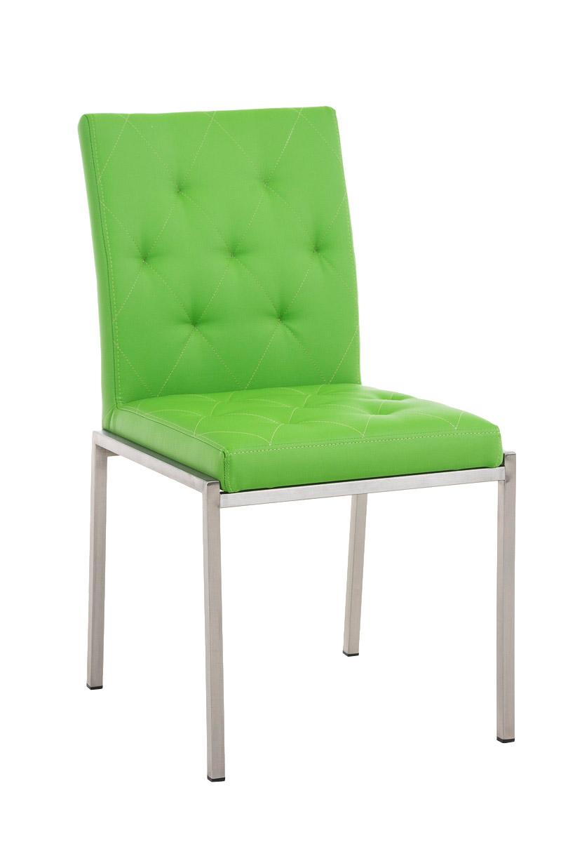 edelstahl besucherstuhl charly kunstleder design polster. Black Bedroom Furniture Sets. Home Design Ideas