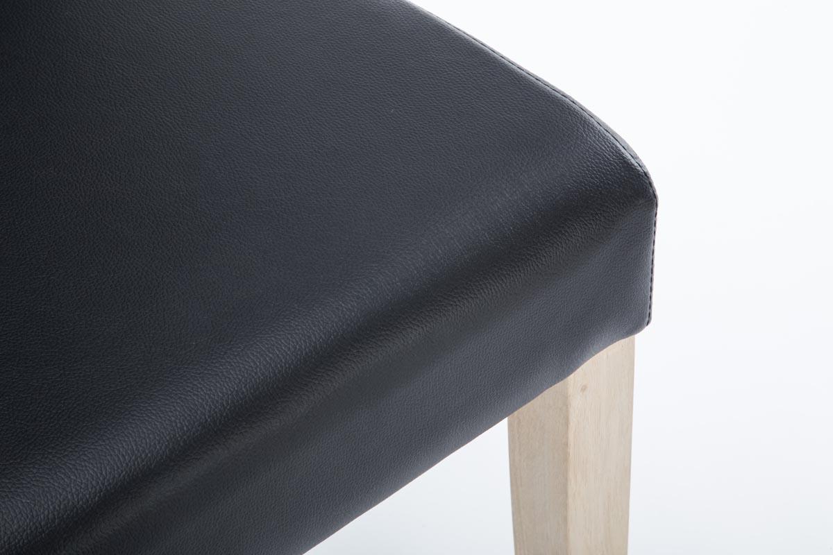 Esszimmerstuhl lasina schwarz k chenstuhl eiche holz for Esszimmerstuhl schwarz