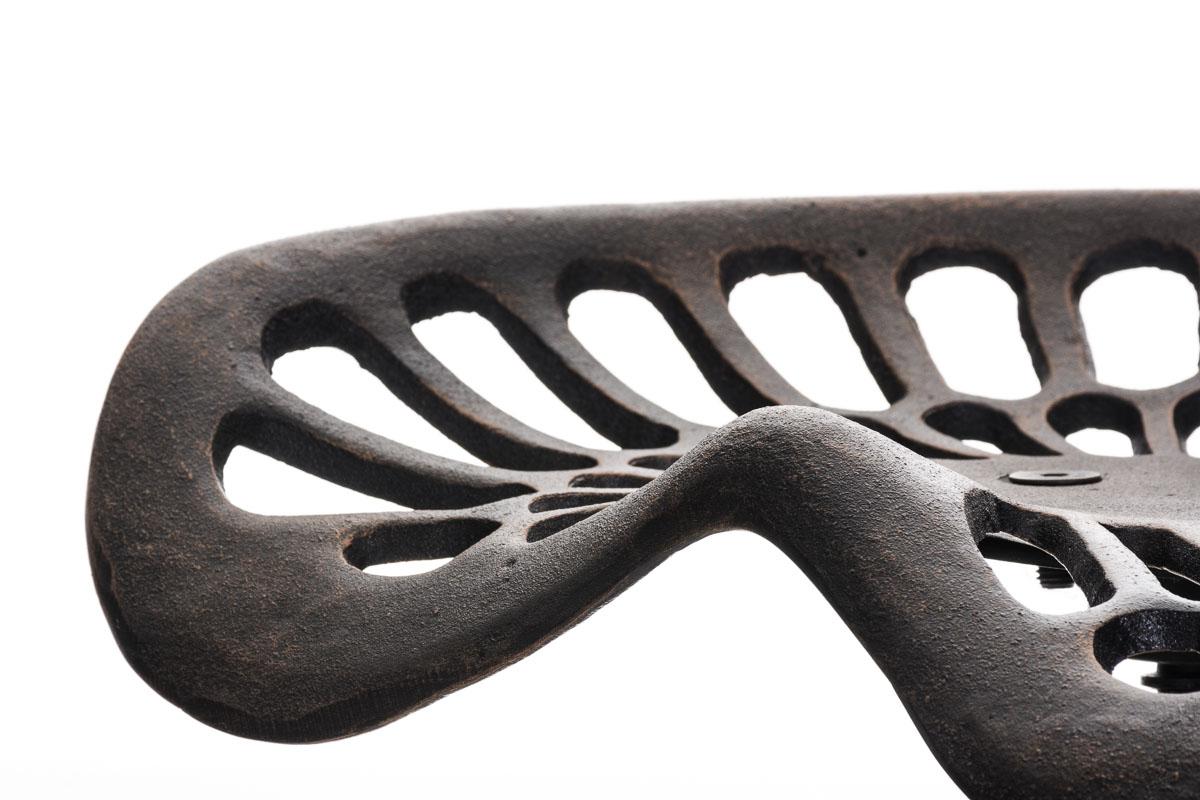 Metall Barhocker Samson Bronze Thekenhocker Sattelsitz