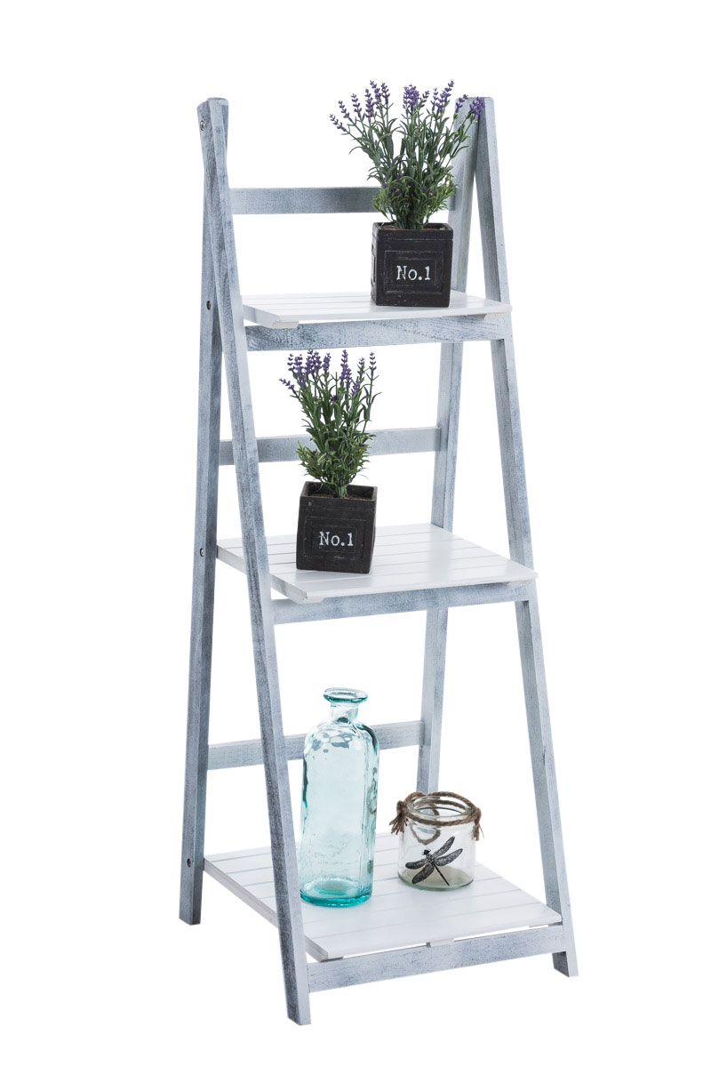 treppenregal yana leiterregal holz standregal stufenregal. Black Bedroom Furniture Sets. Home Design Ideas