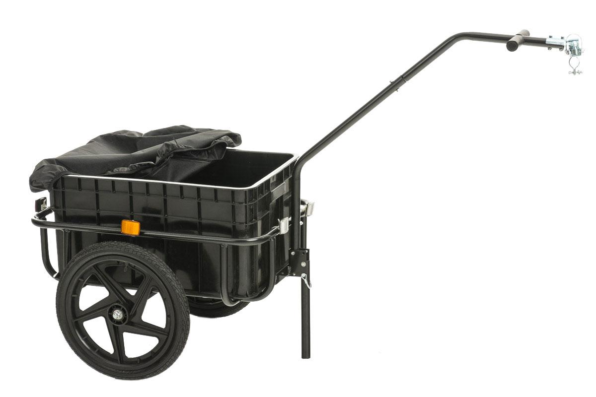 fahrradanh nger willy handwagen lastenanh nger transportanh nger anh nger neu ebay. Black Bedroom Furniture Sets. Home Design Ideas