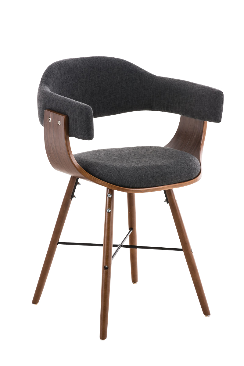 Chair Barrie V2 Tweed Conference Dining Waiting Room Wooden Office