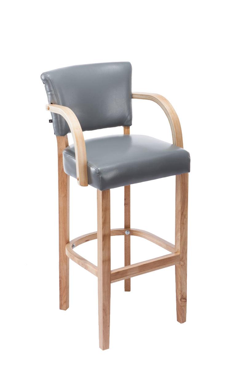 chaise de bar lionel similicuir tabouret de bar scandinave repose pied accoudoir ebay. Black Bedroom Furniture Sets. Home Design Ideas