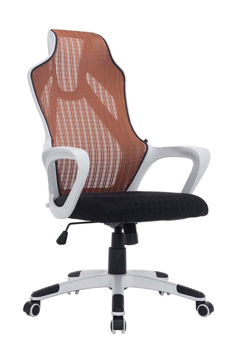 Bürostuhl weiß braun  Bürostuhl MERRYFAIR Adelaide, Schreibtischstuhl Drehstuhl, Polster ...