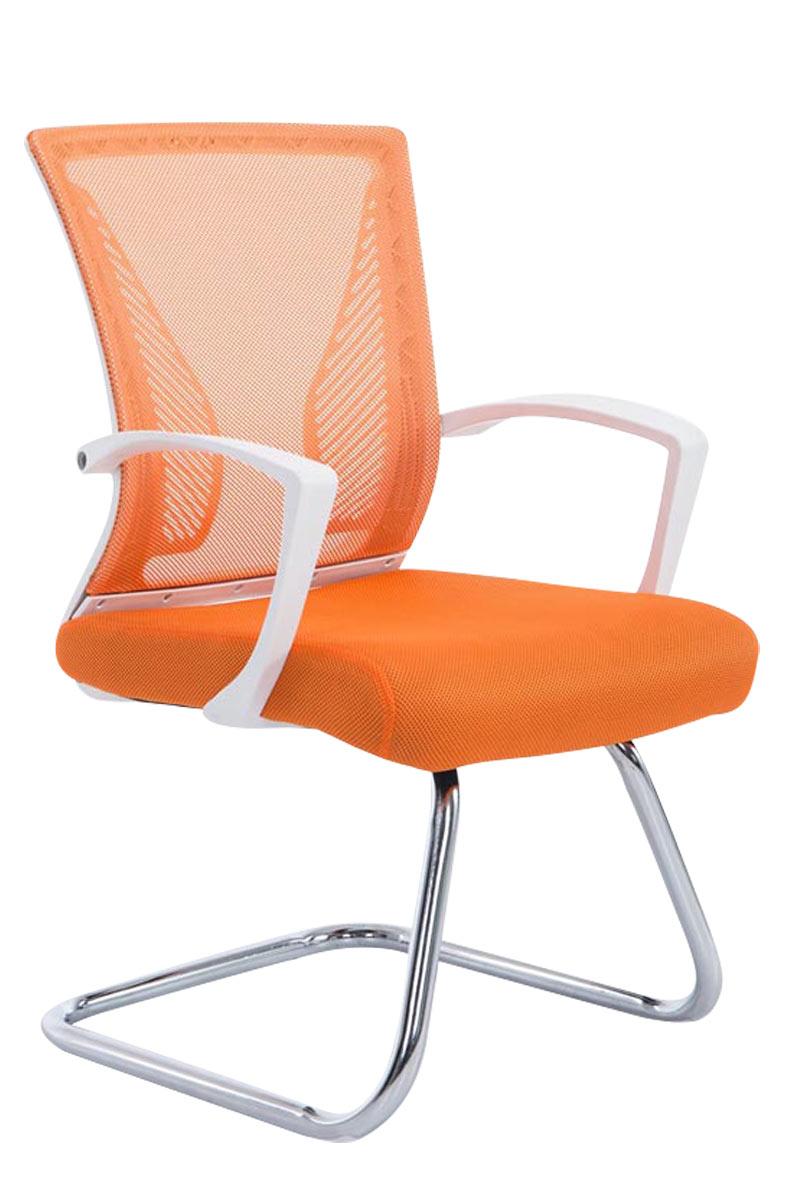 chaise visiteur bonnie chrom fauteuil luge oscillante mailles bureau accoudoir ebay. Black Bedroom Furniture Sets. Home Design Ideas