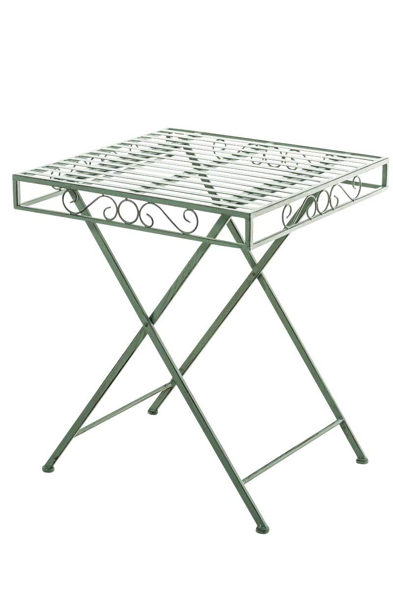 gartentisch funda antik metalltisch balkontisch shabby chic vintage eisentisch ebay. Black Bedroom Furniture Sets. Home Design Ideas