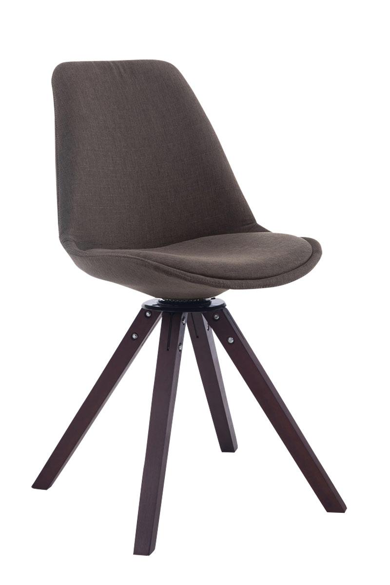 chaise salle manger troyes noix carr pivotant fauteuil tissu cuisine bureau ebay. Black Bedroom Furniture Sets. Home Design Ideas