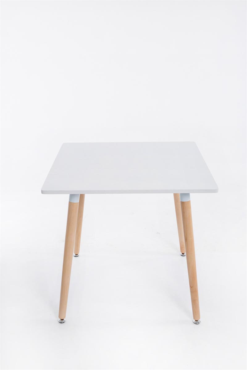 design tisch bente holz eckig esszimmertisch kaffeetisch k chentisch bistrotisch ebay. Black Bedroom Furniture Sets. Home Design Ideas