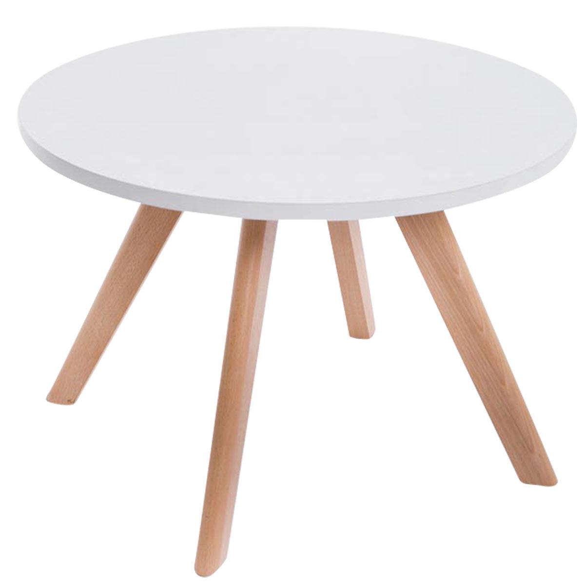 design tisch eirik holz wei couchtisch wohnzimmertisch. Black Bedroom Furniture Sets. Home Design Ideas