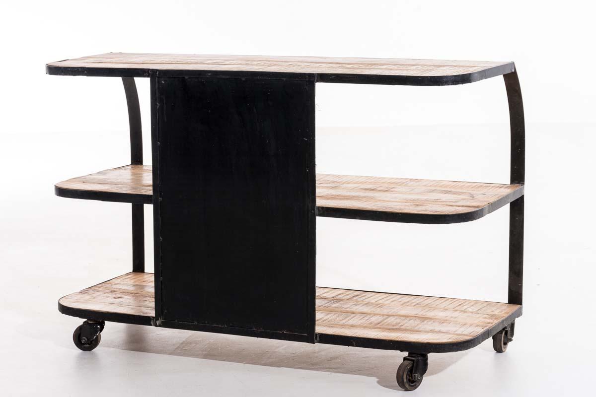 tv rack sakshi fernsehtisch industrial design lowboard tv board sideboard regal ebay. Black Bedroom Furniture Sets. Home Design Ideas