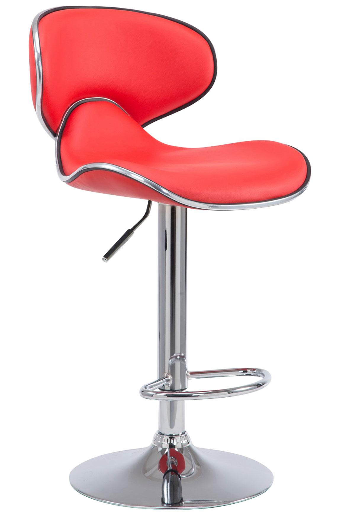 tabouret de bar r glable las vegas v2 similicuir chaise haute de bar repose pied ebay. Black Bedroom Furniture Sets. Home Design Ideas