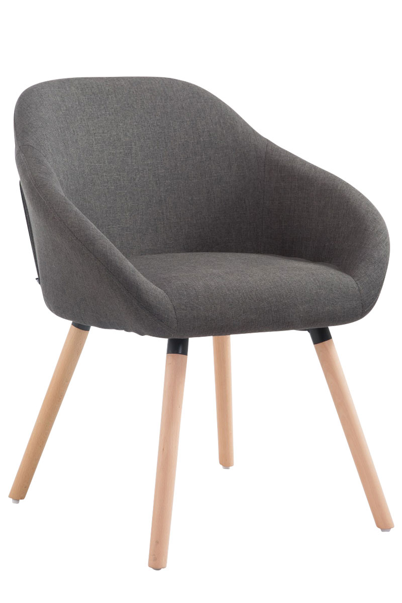 chaise de salle manger hamburg tissu chaise design scandinave confortable ebay. Black Bedroom Furniture Sets. Home Design Ideas