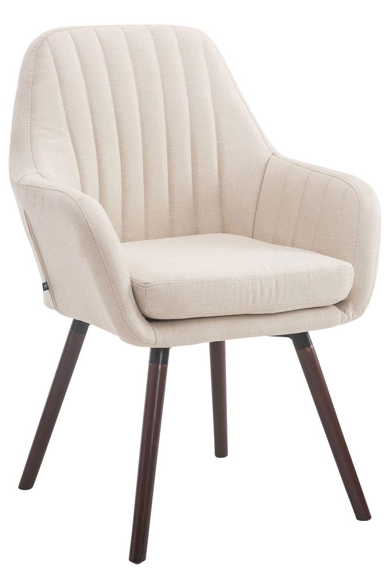besucherstuhl florian stoff esszimmerstuhl polsterstuhl holz stuhl armlehnstuhl ebay. Black Bedroom Furniture Sets. Home Design Ideas
