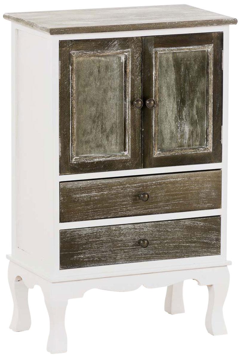 Armoire martijn bois 2 tiroirs 2 portes commode rangement - Armoire de salon en bois ...