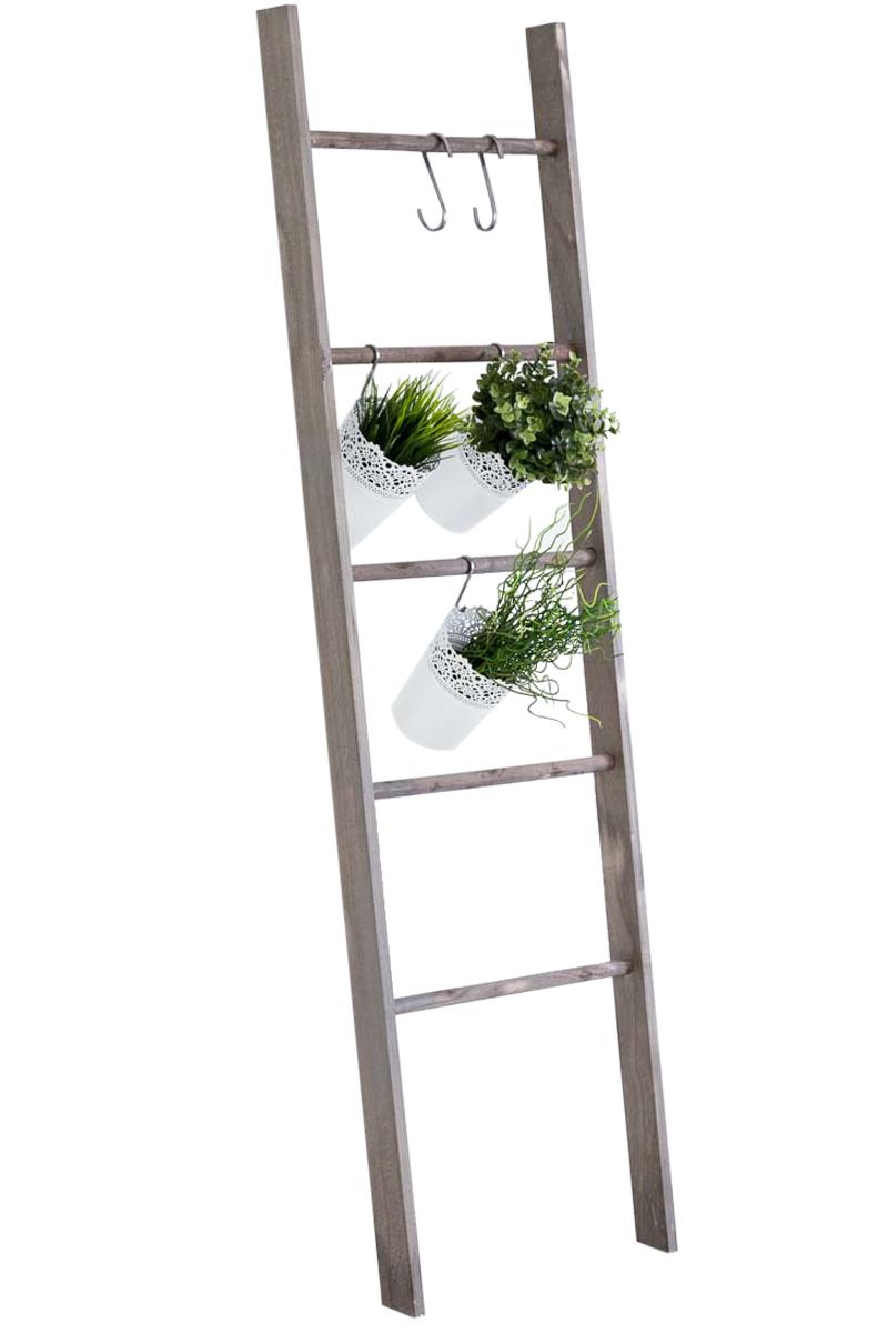 holzleiter mariette kleiderleiter handtuchleiter dekoleiter pflanzenregal shabby ebay. Black Bedroom Furniture Sets. Home Design Ideas