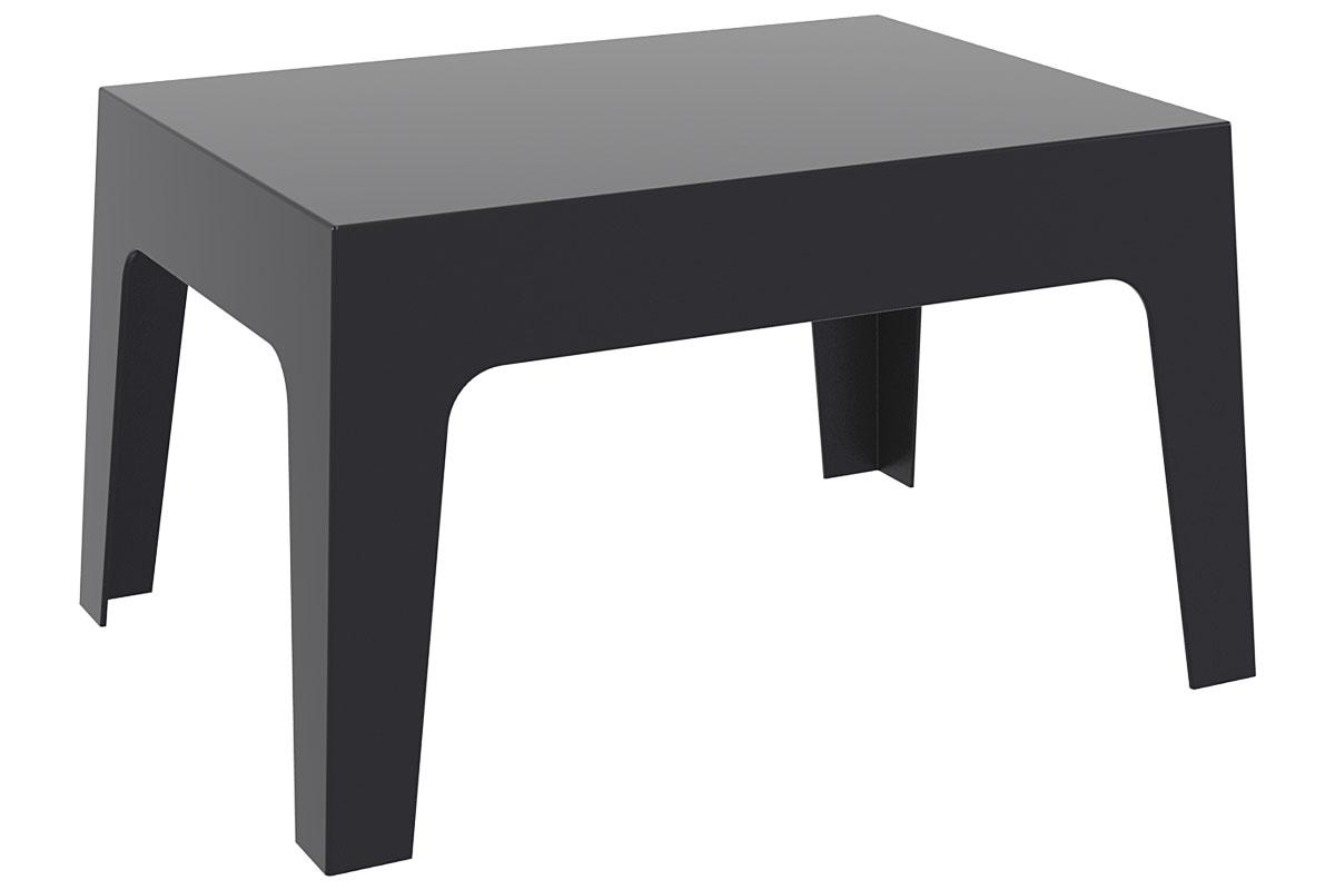 Design garten lounge tisch box kunststoff 70 x 50 cm for Design tisch ebay