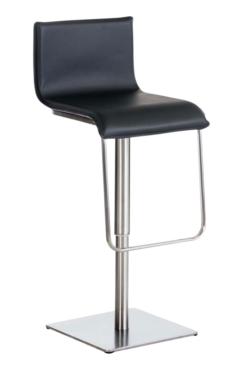 Bar Stool Limon Faux Leather Kitchen Breakfast Counter Stool Backrest New Ebay