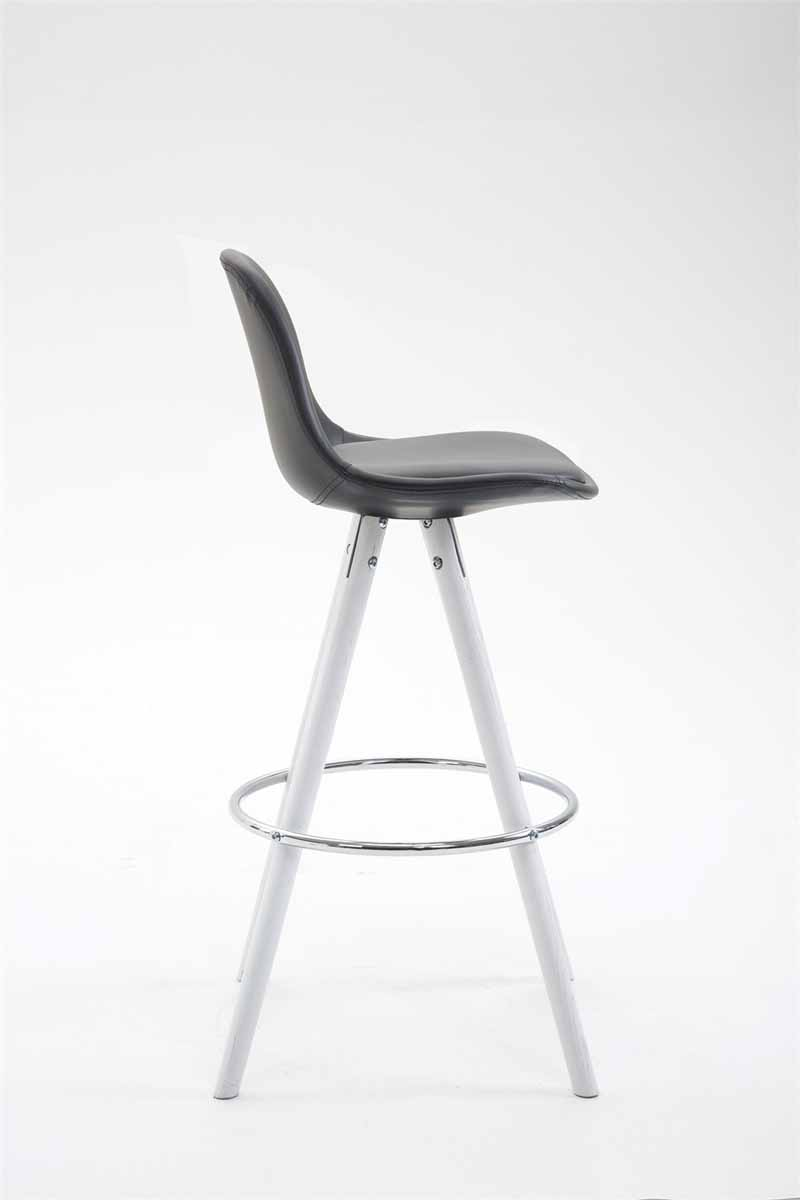 tresenhocker franklin vollgepolstert kunstleder rund. Black Bedroom Furniture Sets. Home Design Ideas