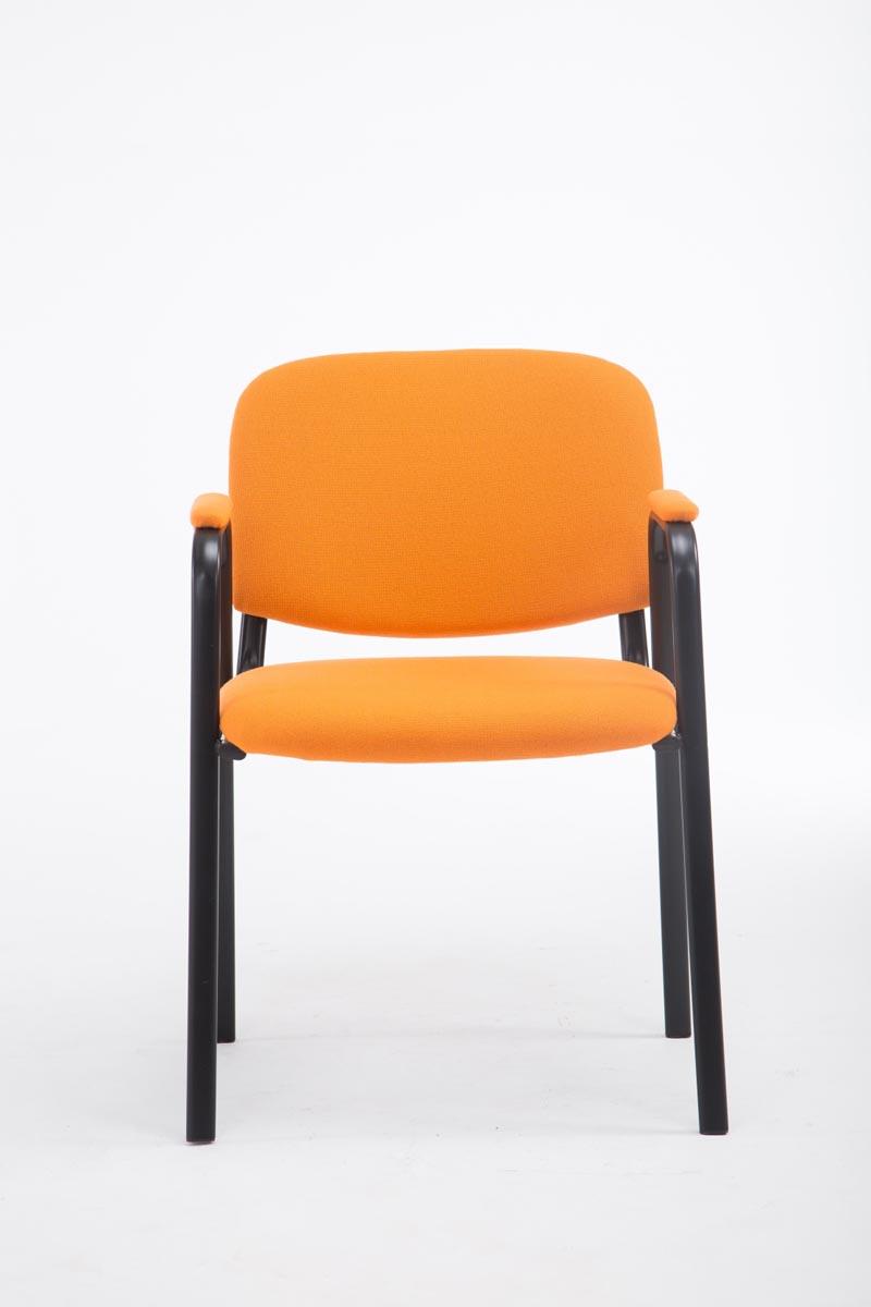 Tissu De La Reunion accoudoir empilable ken réunion tissu visiteur chaise pro