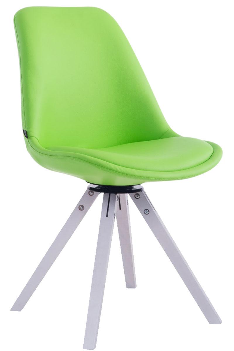 Chaise visiteur calais similicuir pivotante fauteuil for Chaise fauteuil scandinave